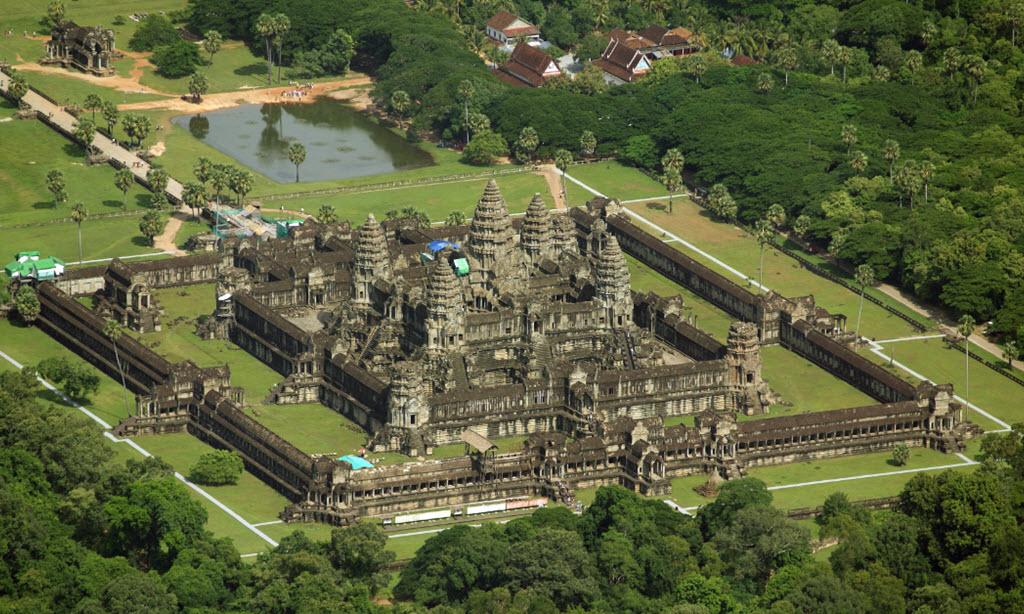 Angkor Wat temple - Siemreap Cambodia