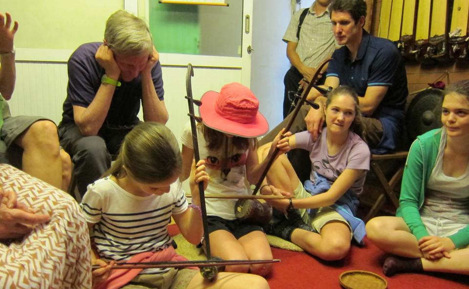 Learning musical instrument in Hanoi Vietnam
