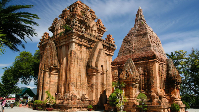 Ponagar Cham towers in NhaTrang
