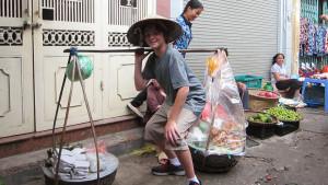 Hanoi Vietnam - market experience in the old quarter Hanoi