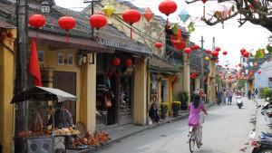 Nguyen Thai Hoc street in Hoi an town - hoi an tour