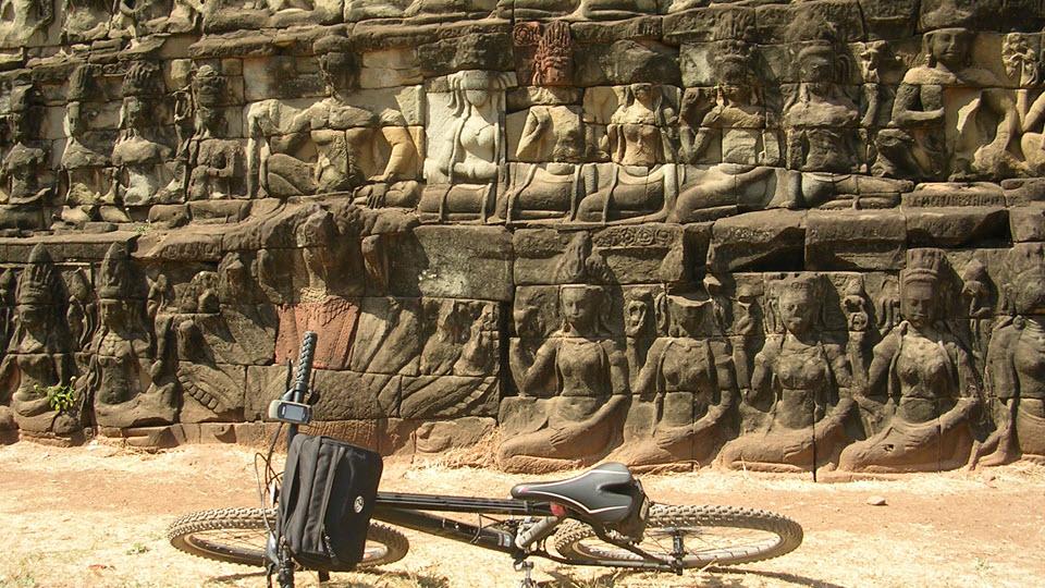 Terraces of Leper King - Angkor Thom Cambodia