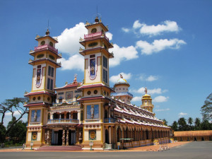 CaoDai Great Temple in TayNinh