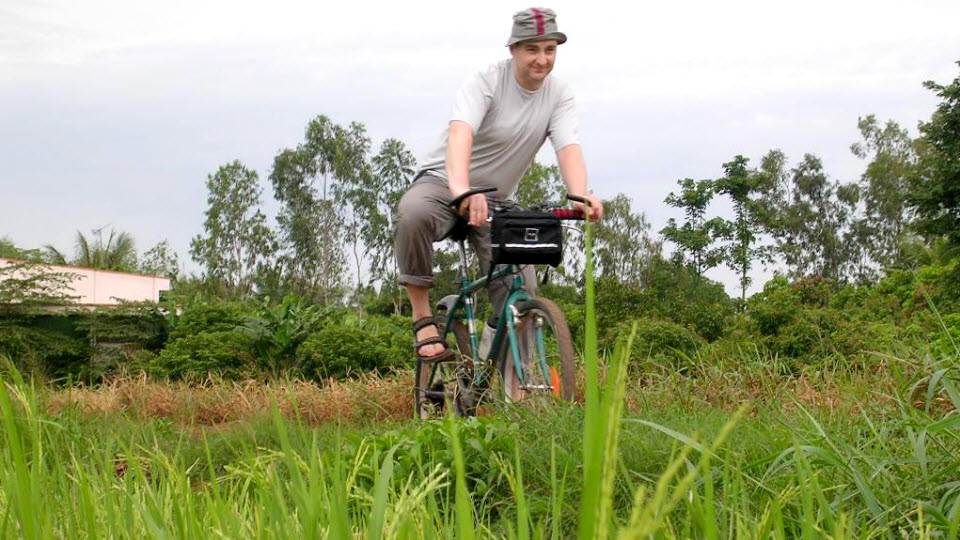 Mekong delta cycling tour 2 days