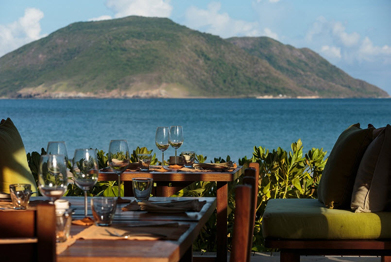 Six senses Con Dao - beach restaurant