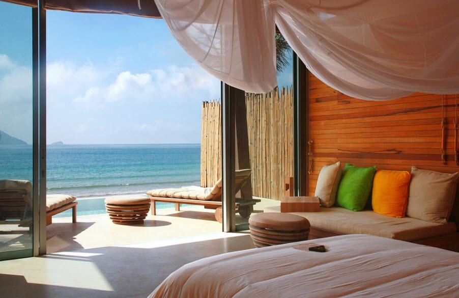 Six senses Con Dao - Ocean front deluxe double room pool villa