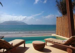 Six senses Con Dao Ocean front deluxe pool villa