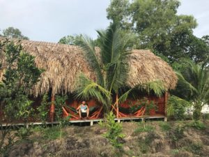 Scenery of eco guesthouse in CanTho - mekong river cruise 2 days