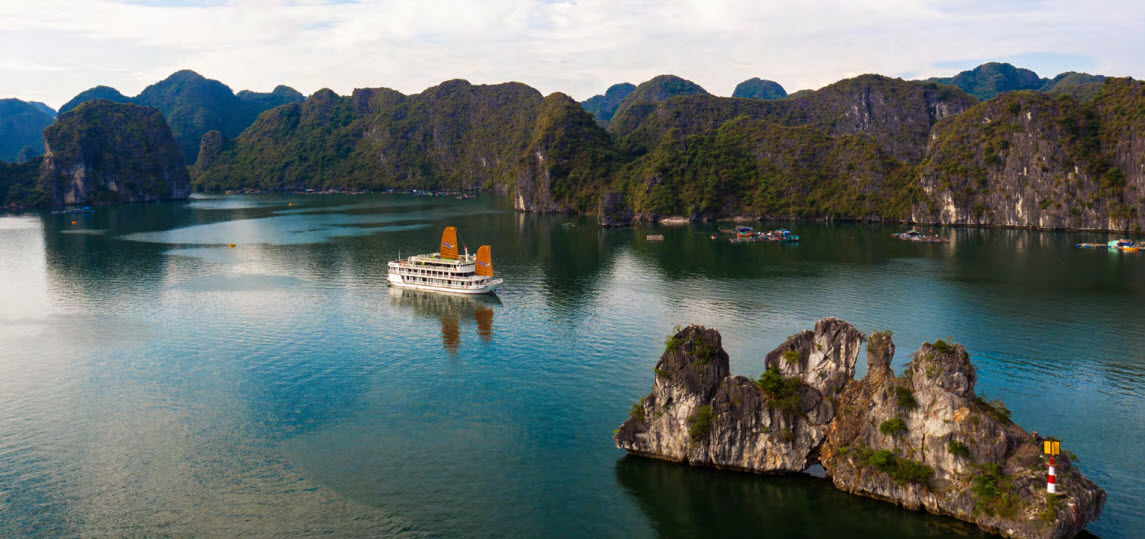 CatBa island Halong bay LanHa bay 3days with UniCharm cruise