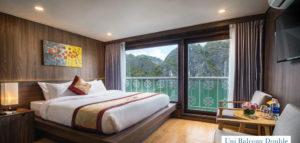 CatBa island Halong bay LanHa bay 3days with UniCharm cruise | Balcony double cabin
