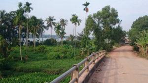 Bike to CuChi tunnels - Trail along Saigon river from LaiThieu to ThuDauMot