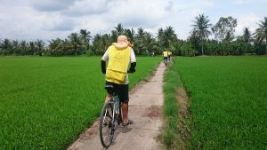 Cycling mekong delta BenTre to TraVinh