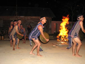 Central Highland traditional dance