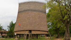Rong house of Bana tribe in KonTum
