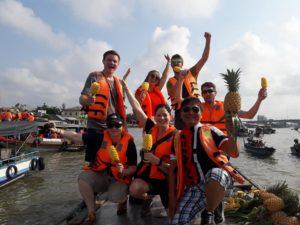 Mekong Delta Tour - CaiRang floating market