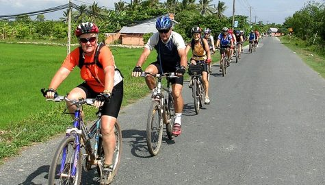 Mekong delta cycling tour 3 days